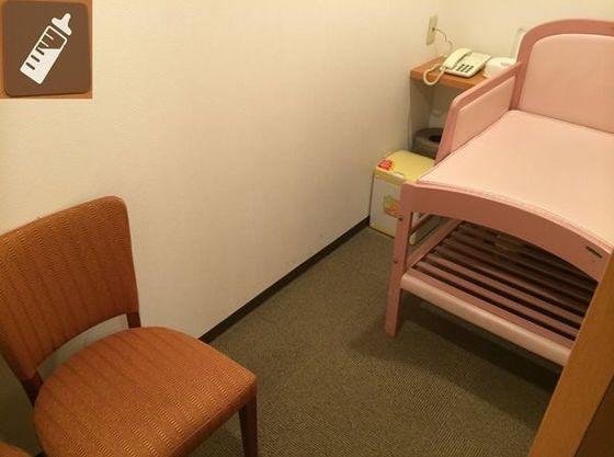 ホテルロビーに授乳室がございます