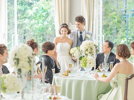 家族や親族を中心としたアットホームなパーティが人気