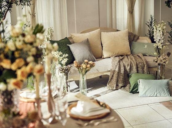 花嫁控室は専用だから、お子様も一緒にお召し替え出来る!