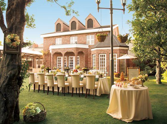 ガーデン付き邸宅ならではのパーティを楽しんで!!