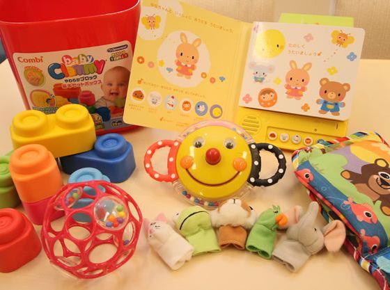 打合せ中にお子様が退屈しないようにおもちゃなどもたくさん!