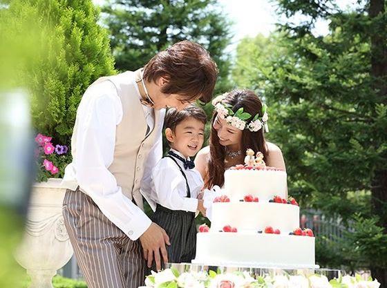 ウエディングケーキは、こだわりいっぱいに創作して!