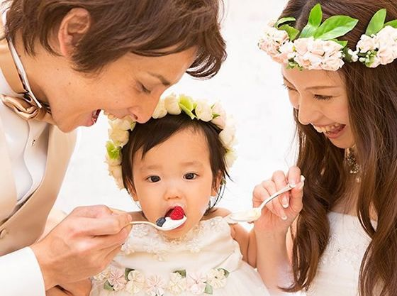 子供と一緒に行うケーキバイトは温もりあふれる演出に!