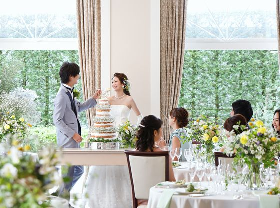 【Lydia】ホテルのおもてなしと、自由な結婚式を叶えます。笑顔溢れる一日をすごして。