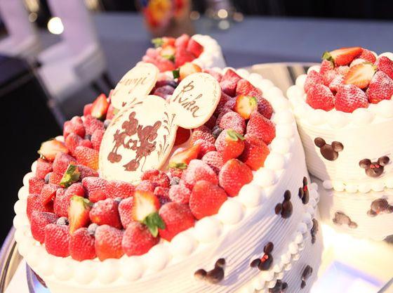 オリジナルケーキではお子様に人気のディズニーのケーキも
