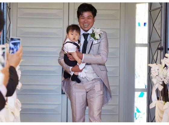 お子様と一緒に入場する家族式も人気
