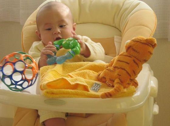 赤ちゃんにはベビーラックを