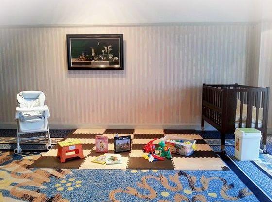 会場内や隣接した会場に託児室をお作りすることもできます