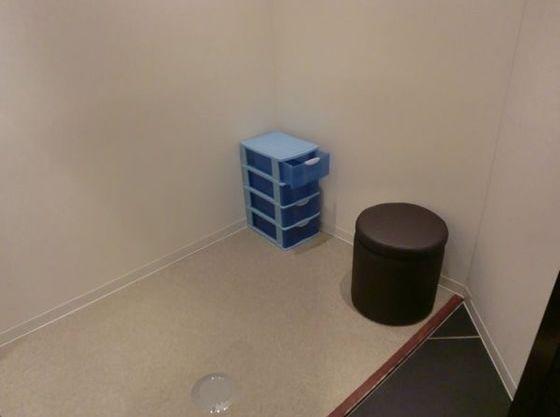 個室の授乳コーナーも完備。