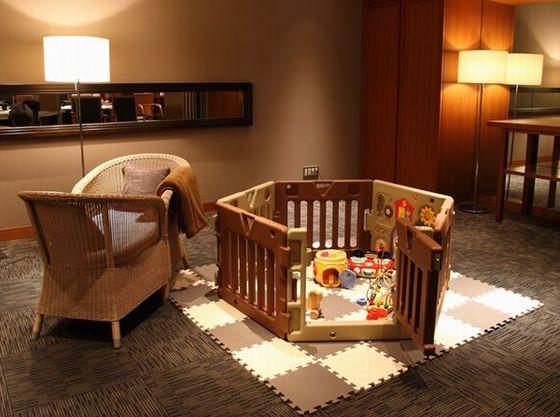 託児室を設けることも可能!ベビーシッターのお手配も承ります。
