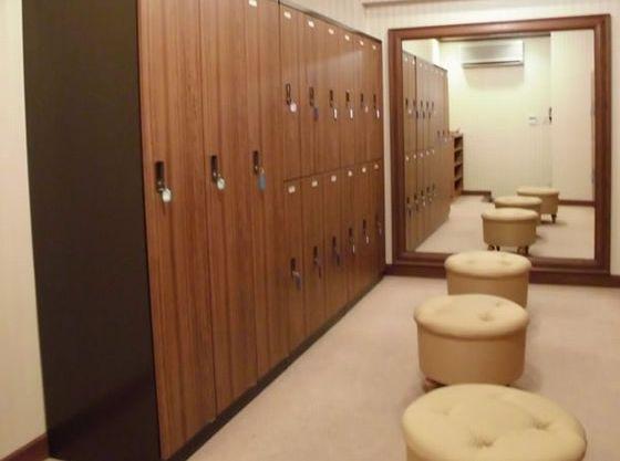 気軽に着替えもしていただけるお部屋も完備。