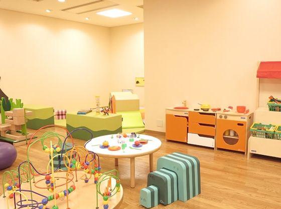 知育玩具が充実でお子さまに人気の「キッズルーム」