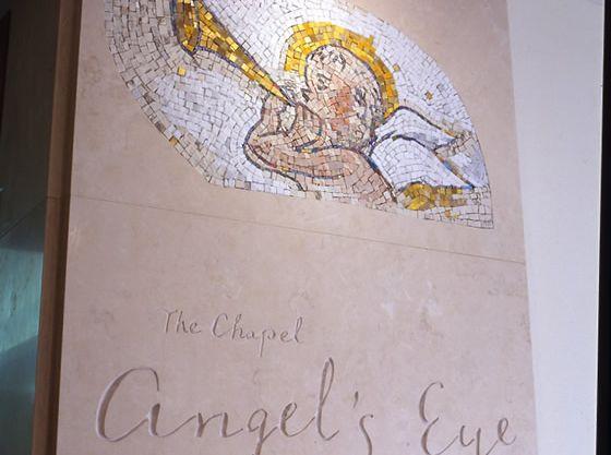 天使が見守るチャペル「エンジェルズ・アイ」。