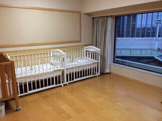 小さなお子さま用のベッドもご用意!