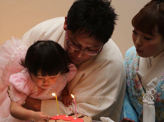 お子様の誕生日をみんなでお祝いしてもらうのも素敵♪