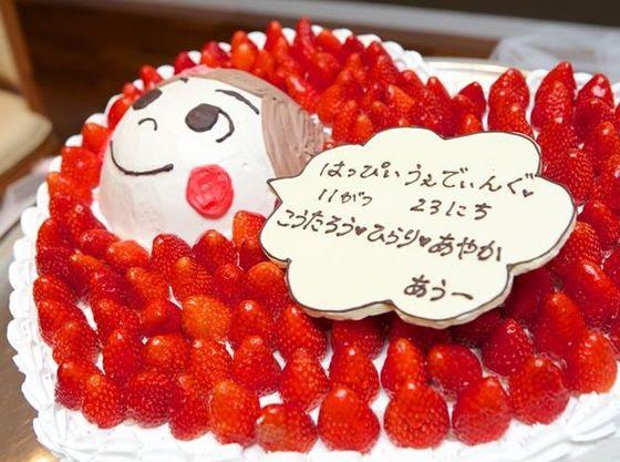 専属のパティシエがパパママ婚ならではのケーキもご提案!