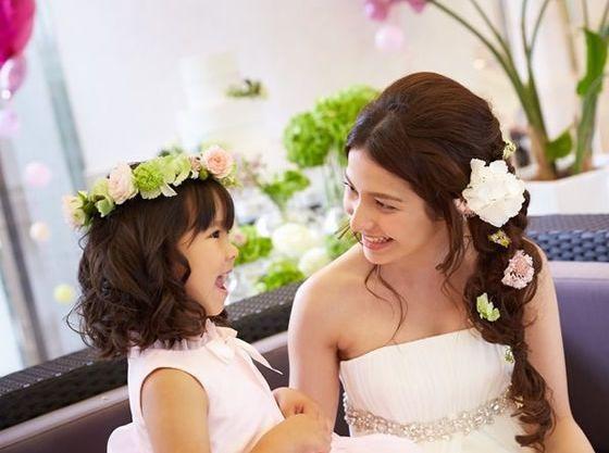 ベビーシッターも手配可能。(有料)ご結婚式当日も安心。