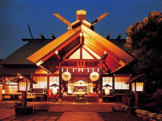 神前結婚式創始の神社「東京大神宮」