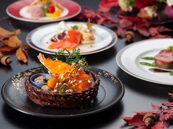 四季の季節限定の特別料理