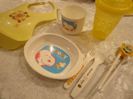 安全なお皿・スプーン・フォークもご準備しております