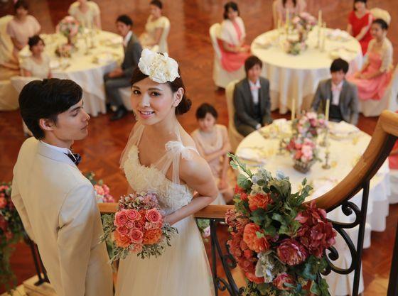 憧れの階段入場など、花嫁姿を輝かせる充実した設備