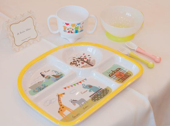 離乳食のお持込みも大歓迎!!お子様用の食器もご利用いただけます