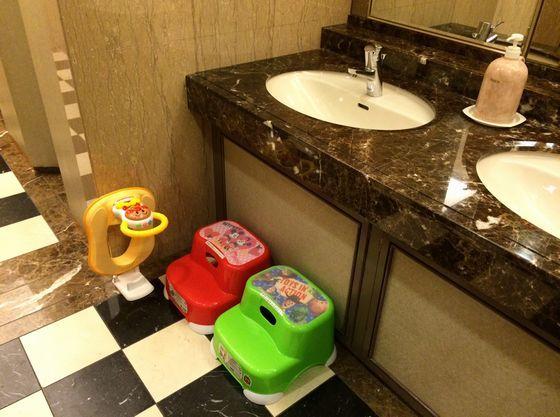 お子様用便座や洗面台用キッズステップもご自由にお使いいただけます