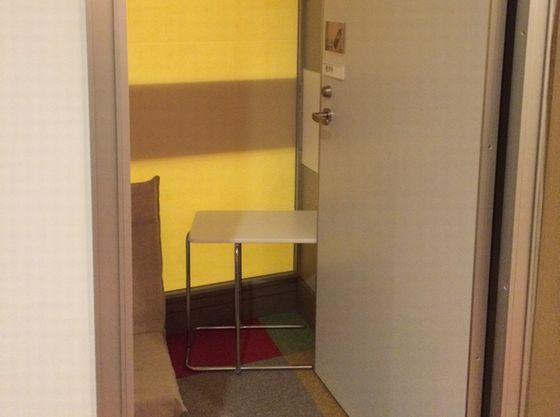 鍵のかかる個室授乳室もあり安心。授乳ケープも貸し出し可
