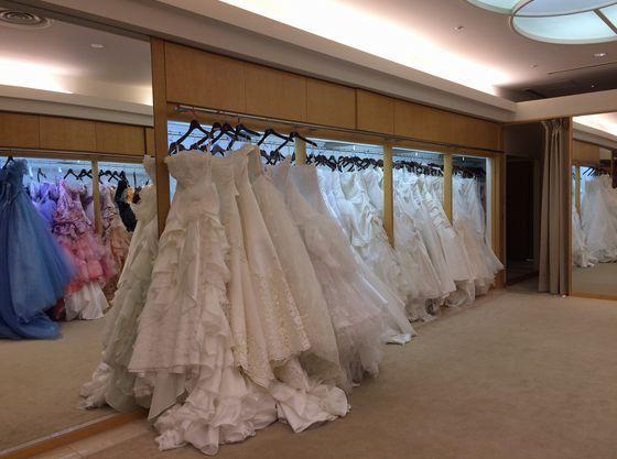 衣装室もホテル内にあり、打ち合わせが館内で全て完結します