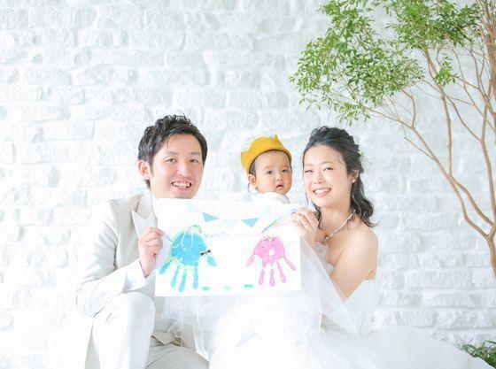 家族の記念♪『手形DEアート』