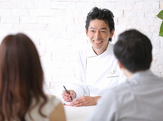 料理長と打ち合わせをしてゲストへの細かいお食事の配慮も可能!