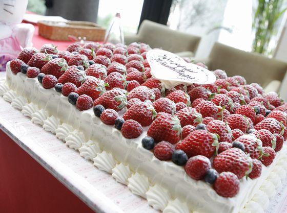 オシャレでおいしいケーキはお子様にとって必須