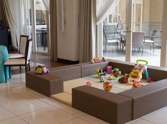 披露宴会場にキッズスペースの設置も可能。