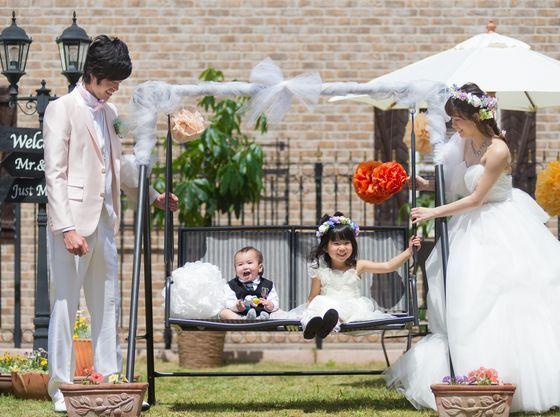ご家族だけの結婚式も可能。