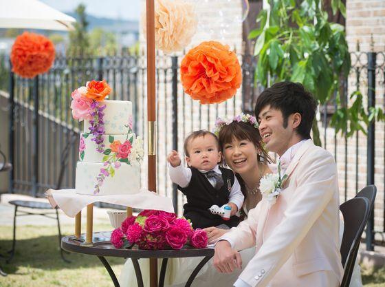 パパママ・キッズ婚で思いで残る結婚式に。