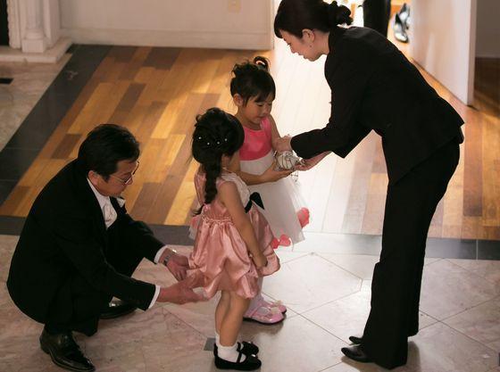 お子様が主役の瞬間もしっかりとサポートするので安心と楽しさを