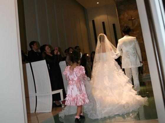 新婦様へのお手伝い♪未来の素敵な花嫁姿を夢見て