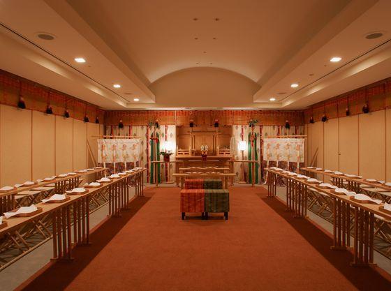 縁結びの神様で有名な出雲大社の流れをくむ神殿