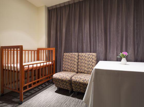 ホテル館内には授乳・オムツ替えができるお部屋をご用意