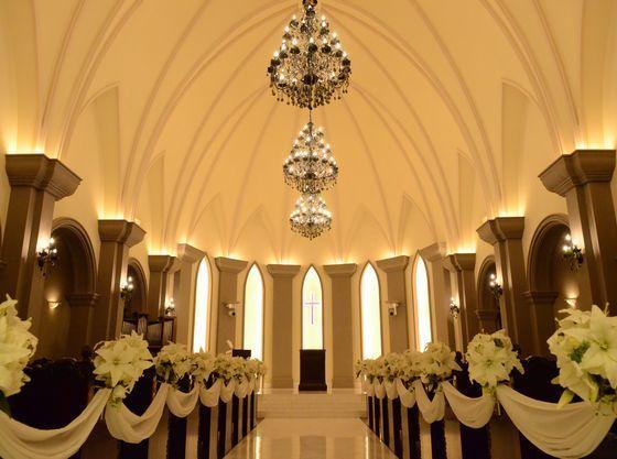 当式場自慢の独立型大聖堂