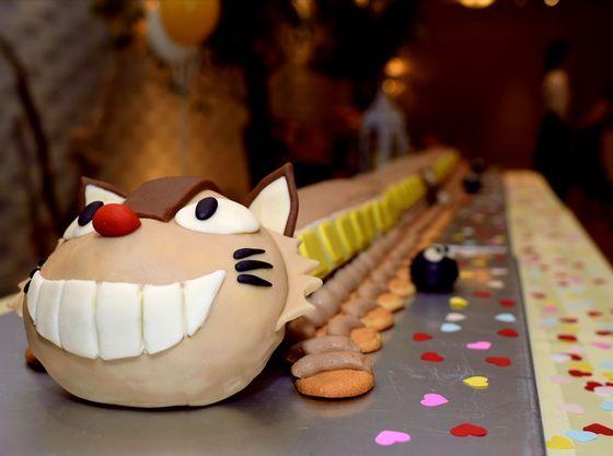 オリジナルケーキにお子様もワクワク!