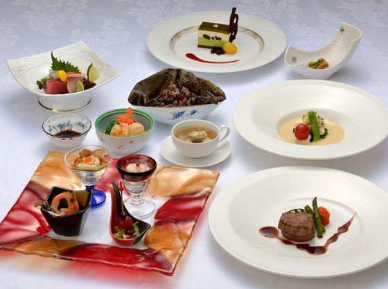 和食・洋食・中華も楽しめるコースメニュー