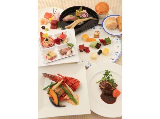 ゲストが食べやすくて嬉しい和洋折衷のコース料理