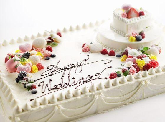 オリジナルのウエディングケーキ