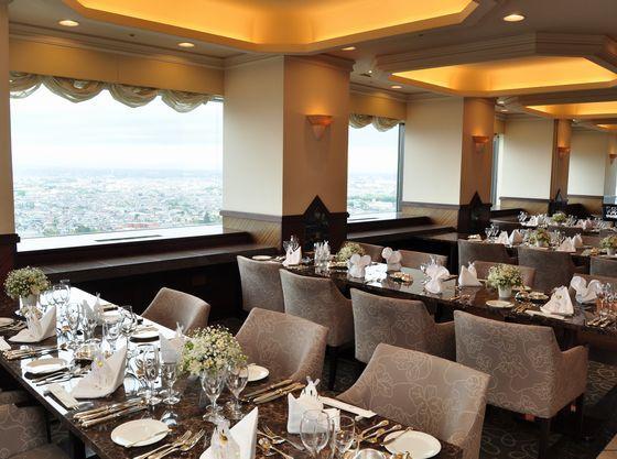 ビアレストラン&バー「J.VIGO」でのご披露宴、お食事会も人気です!