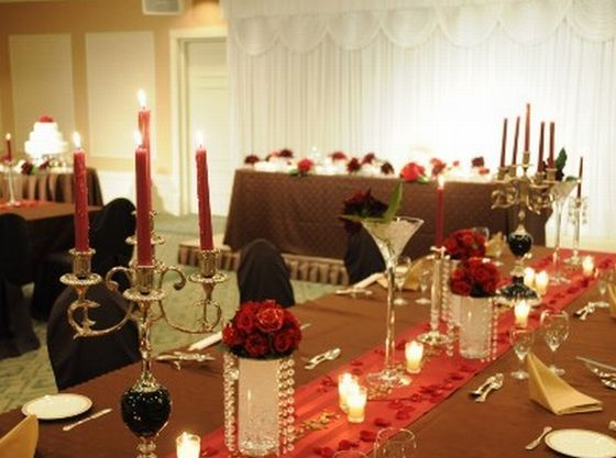 晩餐会みたいな豪華で華やかな会場コーディネートも叶います!