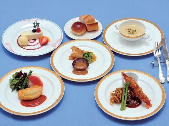 「お子様コース」お子様向けのお料理も充実しております!