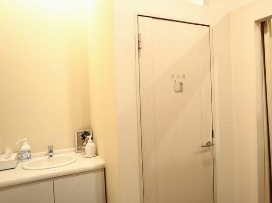個室授乳室完備