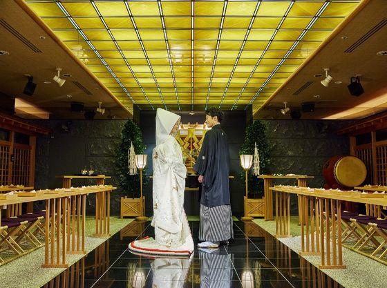 日本伝統が美しい神前式