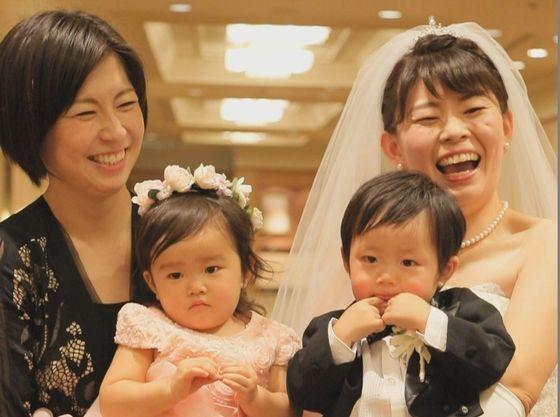 パパママ・キッズ婚ならママ友も披露宴に参加で楽しさ倍増!